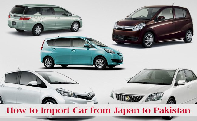 How To Import Car From Japan To Pakistan Automark