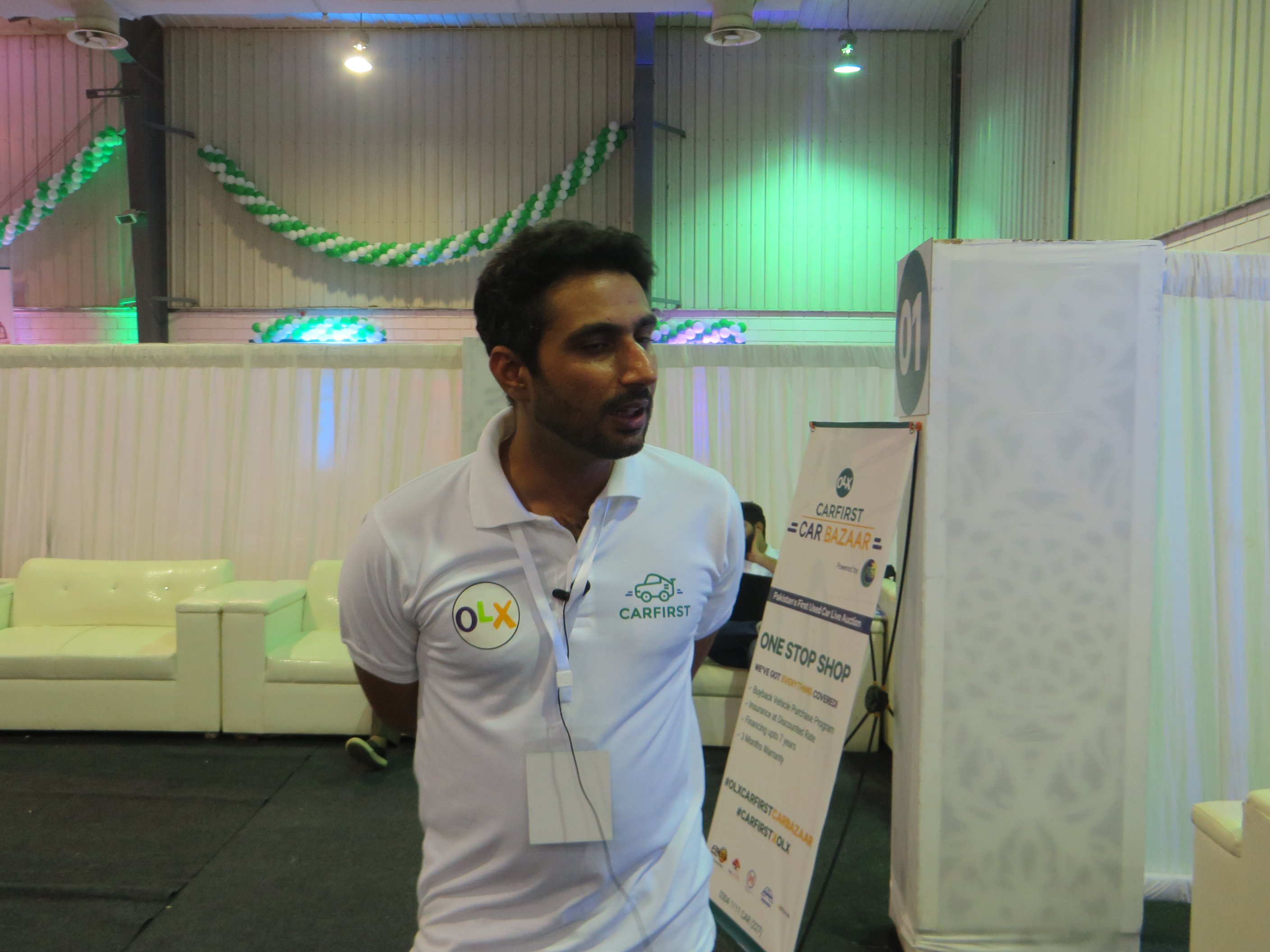 Setting A New benchmark OLX and CARFIRST launched Pakistan's first